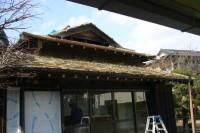 旧家の屋根の葺き替え 施工前