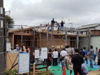 富士岡の家 上棟しました