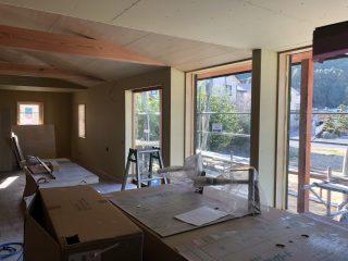 富士市北松野の家 大工工事完了