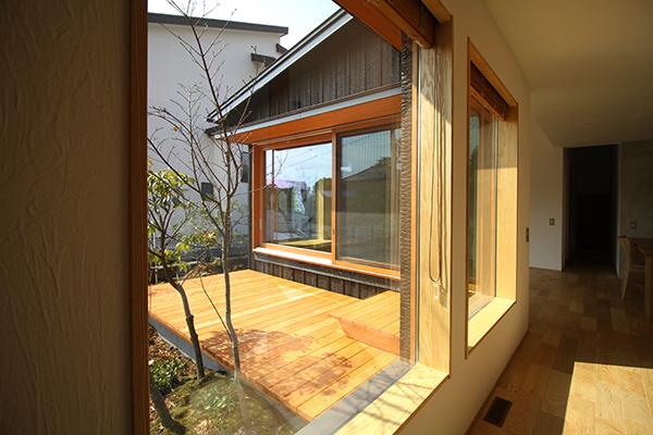 玄関からの眺め