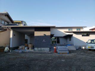 三島市大場の家 外構造園工事