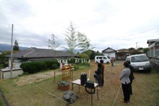山本の家 地鎮祭